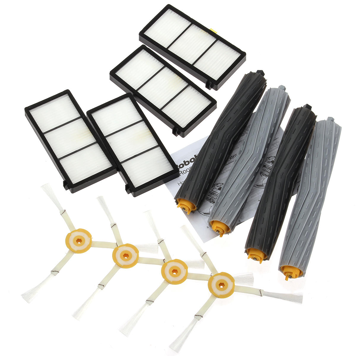 12Pcs Extractor Brus Filter Kit for