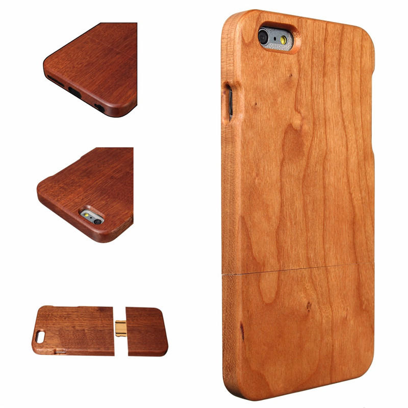 Wooden Wood Back Cover Bamboo Protective