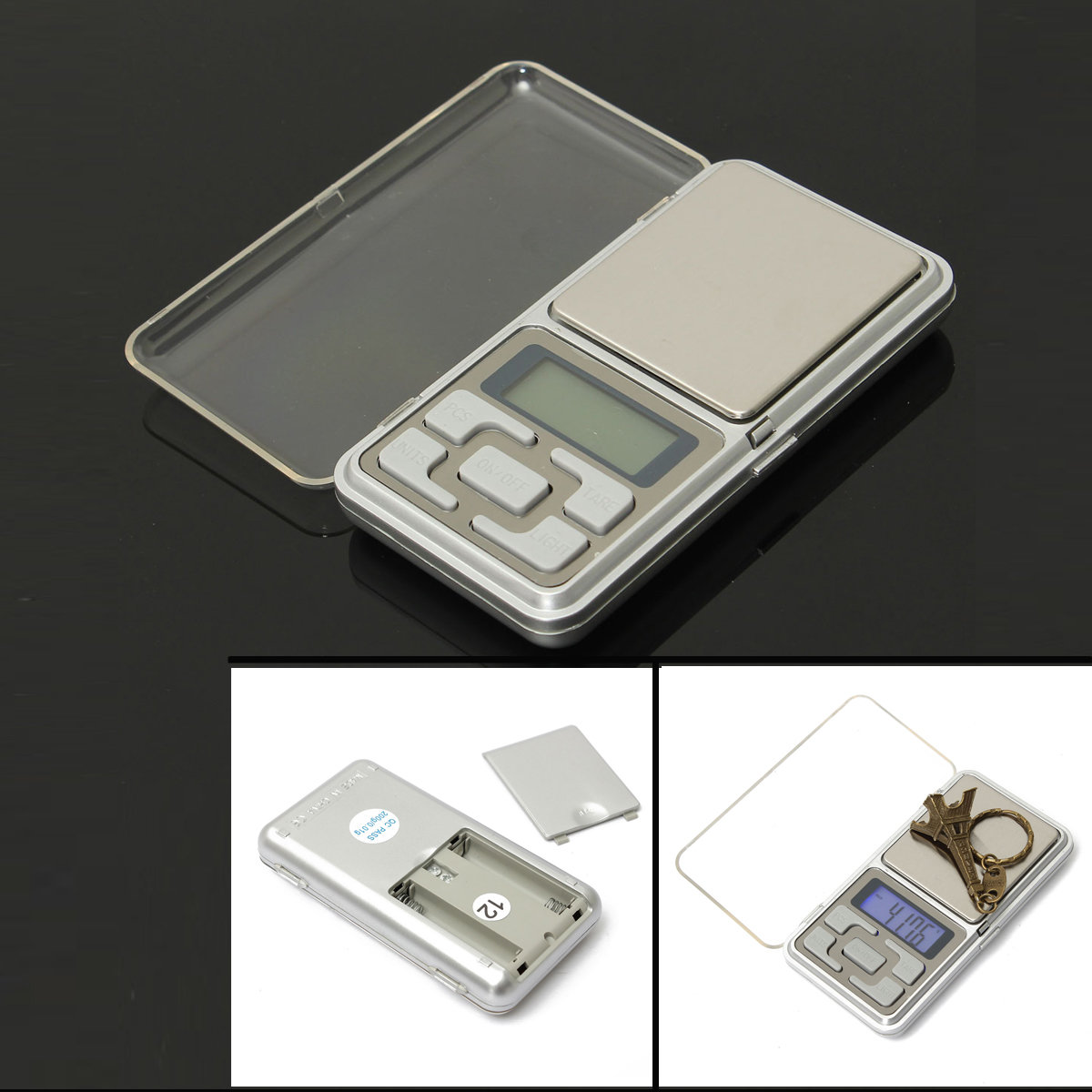 0.01g - 200g Mini Portable Digital Electronic Pocket Gram Weight Scale