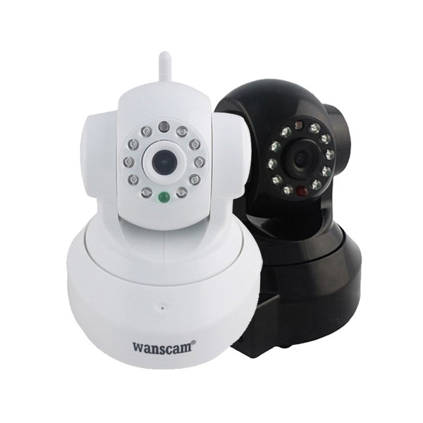 Wanscam HW0024 1.0 Mega px 720P HD TF-Card IR-Cut Security IP Camera h 264 1mp security ip camera outdoor cctv full hd 720p bullet camera ip 6mm lens ir cut filter onvif array led