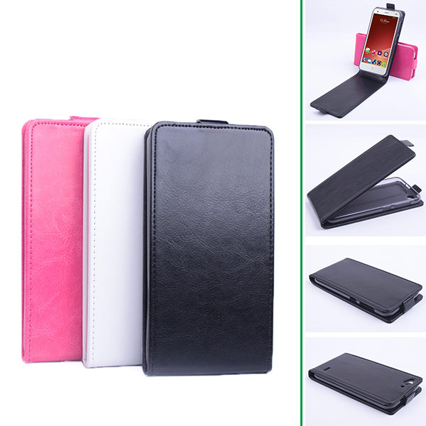 Flip PU Leather 5.0 Inch Protective Case For ZTE Blade S6 flip pu leather protective stand case cover for zte blade l2