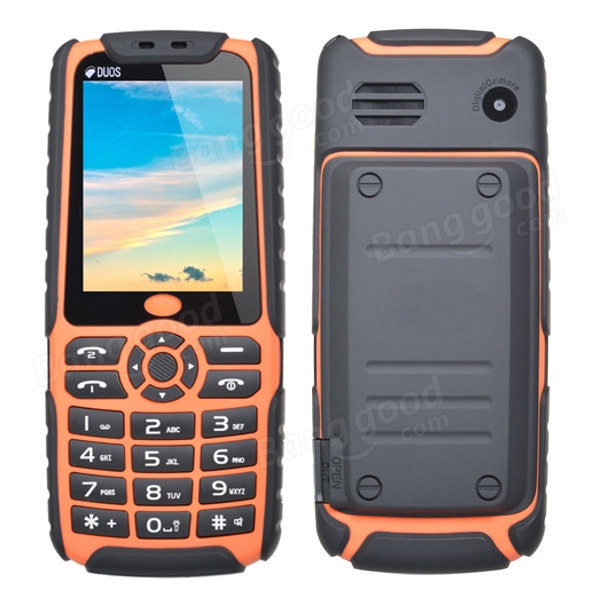 XP3500 2.4-inch Dustproof Outdoor Mobile Phone With Charger