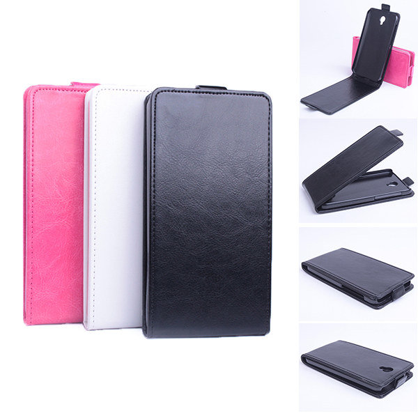 Flip PU Magnetic Leather Case For Alcatel One Touch Idol 2 6037K чехол flip case для alcatel 6033x ot idol ultra черный