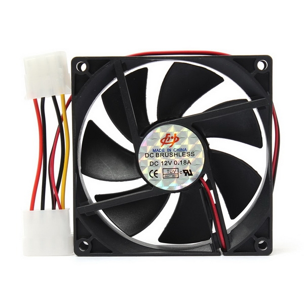 90x90x25mm 12V 4Pin Computer PC CPU Silent Cooling Cooler Case Fan led aluminum cover virus rotating body water tank computer water liquid cooling new computer water cooling cooler for cpu