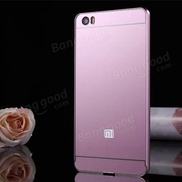 Aluminum Bumper Frame+PC Back Case Cover For Xiaomi 5 Xiaomi Note матрас орматек ecology vitality 200х195 см