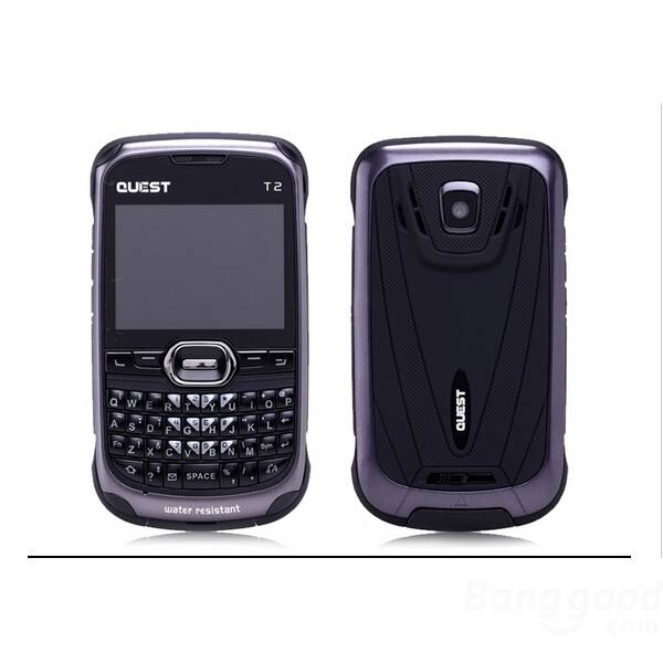 Quest T2 2.3-inch MTK6235 IPX5 Waterproof Mobile Phone quest protein