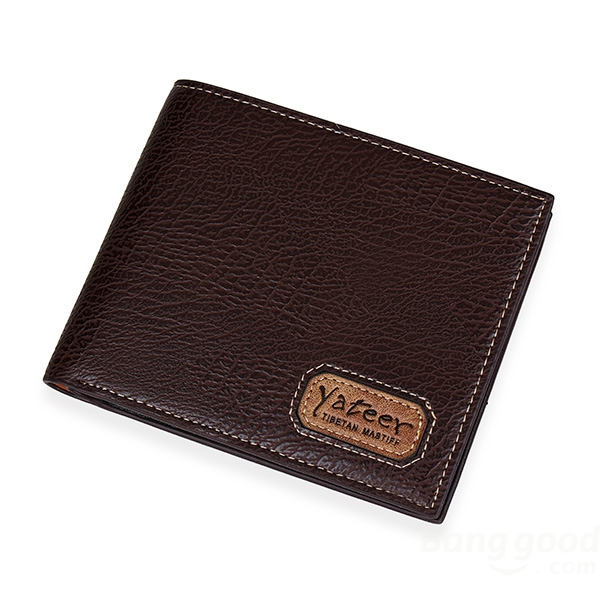 Casual Mens Leather Slim Bifold Credit Card Clutch Holder Male Wallets Purse baellerry brand pu leather wallets men purses slim new designer solid vintage small wallets male money bags credit card holders