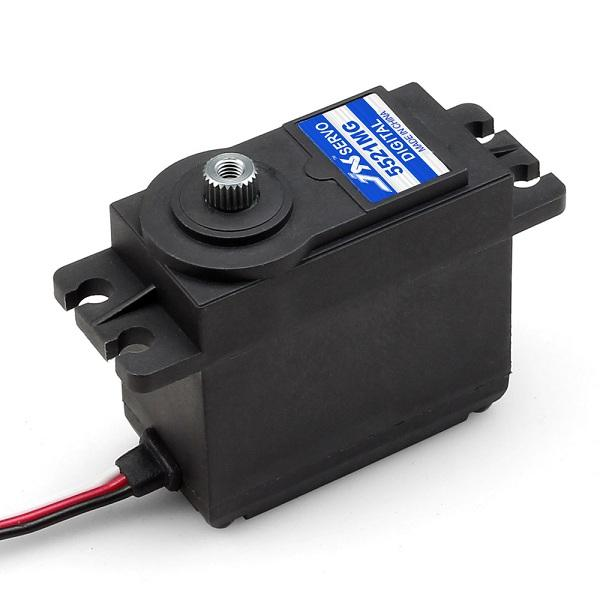 JX PDI 5521MG 20KG High Torque Metal Gear Digital Servo For RC Model jx servo pdi 6115 mg kg 15 large torque torque metal gear steering gear digital hollow cup standards