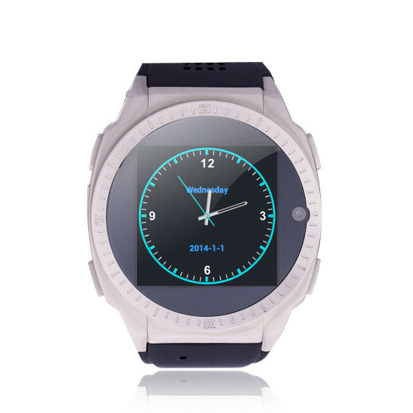 TOP WATCH TW9001 1.54-inch Android 4.0 4GB ROM MTK6577 Dual-core Smart Watch Phone