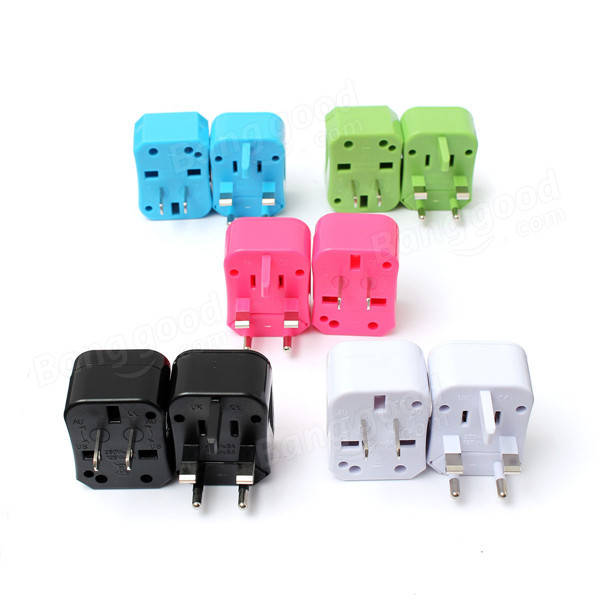 Universal World Travel US / UK / EU / AU Plug AC Power Outlet Socket Adapter Converter Set aputure power adapter for light storm 1s 1c ls c120 led light pannel with eu au uk usa plug