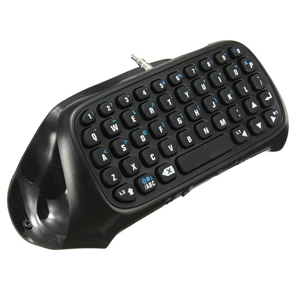 Bluetooth Mini Wireless Chatpad Message Keyboard For PlayStation 4 Controller xbox
