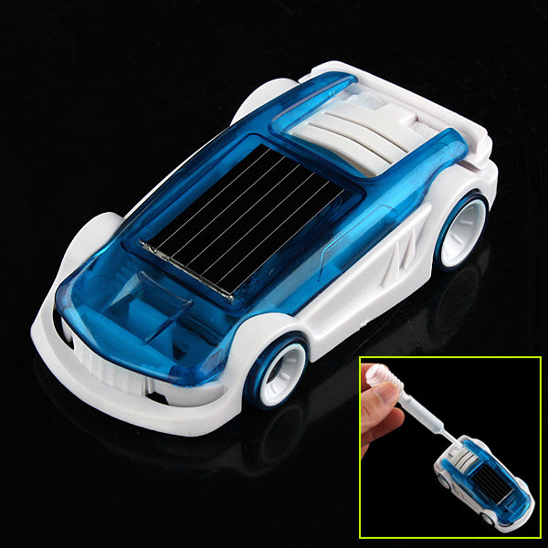 New Solar Salt Water Hybrid Car Solar Power Toy for Children Gift 100w 12v monocrystalline solar panel for 12v battery rv boat car home solar power