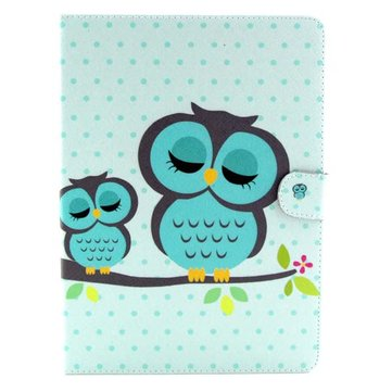 Buy Owl Pattern Folio PU Leather Case Folding Stand Cover Samsung T800