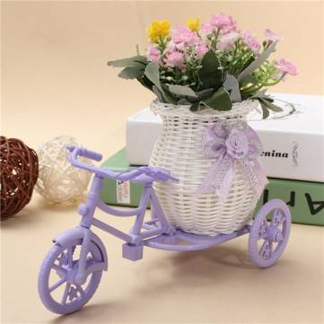 Buy Tricycle Bike Flower Basket Storage Container Party Wedding Decorated