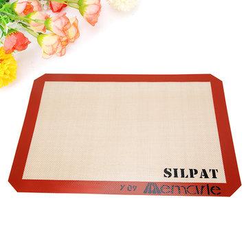 Silicone antiaderente mat mough esteira de cozimento do pad