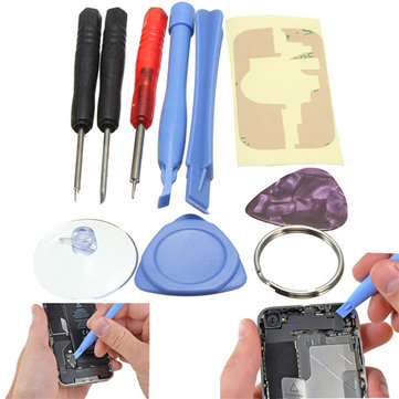 Original 9in1 Opening Pry Repair Screwdrivers Tools Kit Set For iPhone