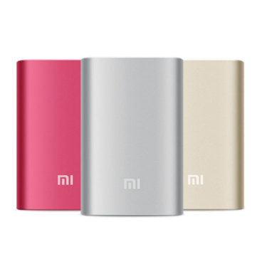 Original XIAOMI 5.1V 2.1A 10000mAh Power Bank For Smartphone