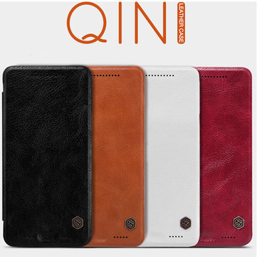Nillkin Qin Ultra-thin Leather Protective Case Cover For HTC One M9+ M9PLUS