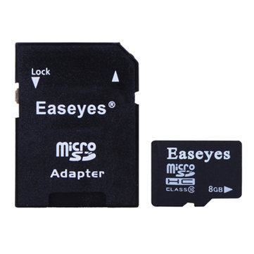 Buy Easeyes Class 10 8GB Micro SD Card TF Adapter