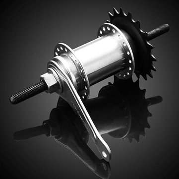Buy Bicycle Hubs Fixed Gear Bike Drum Brake 36 Holes Refit Accessories