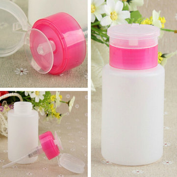150ML Squeeze Pump Polish Dispenser Empty Bottle
