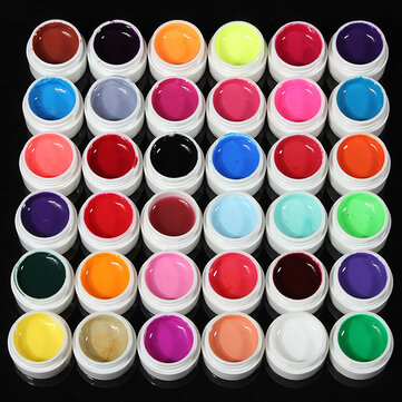 36 Colors Pure Colors UV Gel For Nail Extension