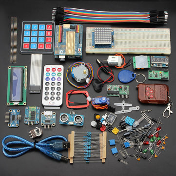 Geekcreit™ Kit di apprendimento di base starter kit per Arduino Uno R3 deluxe