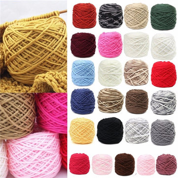 200g 25 Color Soft Cotton Wool Hand Knitting Yarn