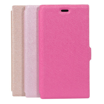 Luxury Silk Grain Pu Leather Phone Protection Case For Xiaomi3