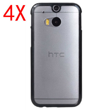 4X Two-in-one Frosted Protective Case For HTC M8