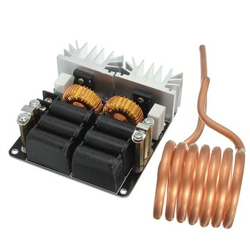 Low ZVS 12-48V 20A 1000W High Frequency Induction Heating Machine Module