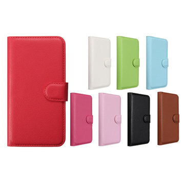 Buy Flip PU Leather Wallet Card Slots Stand Case Cover WIKO Birdy