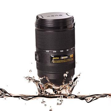 300ML Stirring Camera Lens Zoom Tea Coffee Cup Mug Automatic Stirrer Creative Beer Cup
