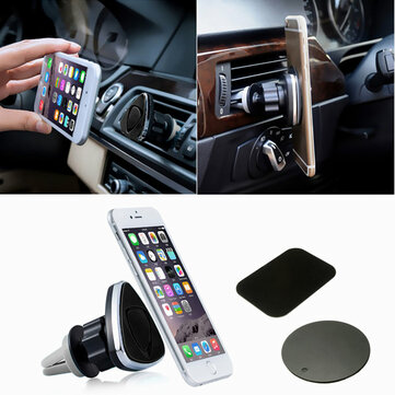 Buy Universal 360 Degree Rotate Magnetic Car Air Vent Holder Stand Support Mount