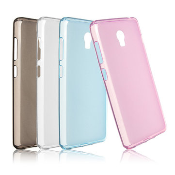 Ultra-thin Soft Translucent TPU Protective Case Back Cover For Lenovo Vibe P1