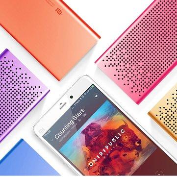 Buy Original Xiaomi Micro-SD Aux-in Hands Free Stereo Pocket 1500mAh 3.8V Bluetooth Speaker