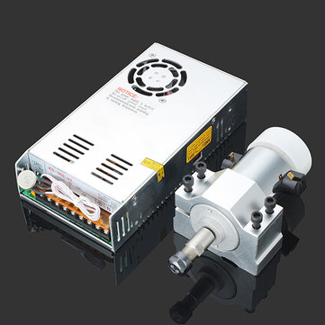 Buy 300W High Speed Air-cooled PCB Motorized Spindle Motor Engraving Machine Accessories