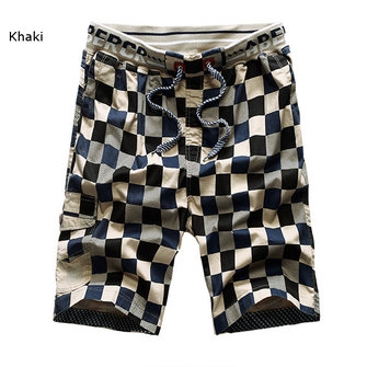 Buy Mens Casual Cotton Shorts Pure Color Fashion Sports Beach