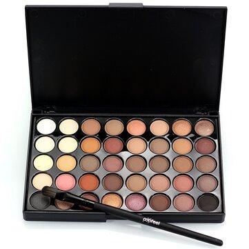 40 Colors Mini Eyeshadow Palette Set Kit Glitter Shimmer Cosmetic Portable Eye Makeup