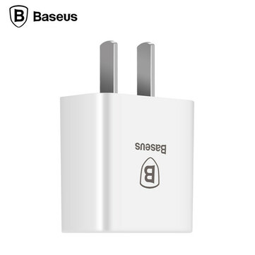 Buy BASEUS 2.1A 10.5W Portable USB Travel Wall Adapter Universal Quick Charger iPhone Samsung