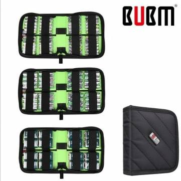 BUBM DCB Universal Portable Electronics Accessories Organizer Battery Cable Storage Bag