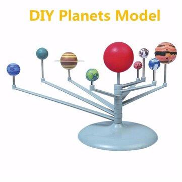 Buy Sunlight Plastic Solar System Celestial Bodies Planets Model Educational Toys