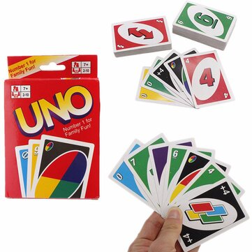 Buy UNO 108 Fun Standard Playing Cards Game Family Friend Travel Instruction NEW