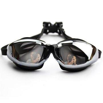 Gafas de visión bajo el agua clara Impermeable gafas de natación para adultos antivaho Gafas nadando