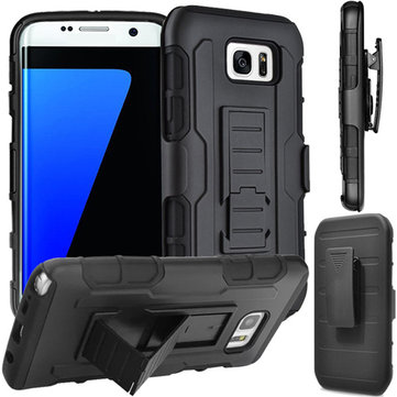 3-in-1 Armor Belt Clip Stand Holder Cover Case For Samsung Galaxy S7 edge