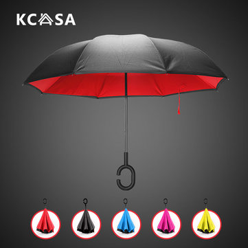 Creative Folding Reverse Double Layer Umbrella