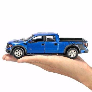 Buy MSZ 1:32 Ford F150 pickup truck metal model light alloy wind car toy