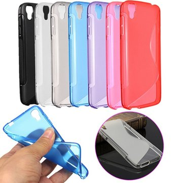 S-Line Soft TPU Gel Case Slim Cover For Alcatel One Touch Idol 3 4.7''