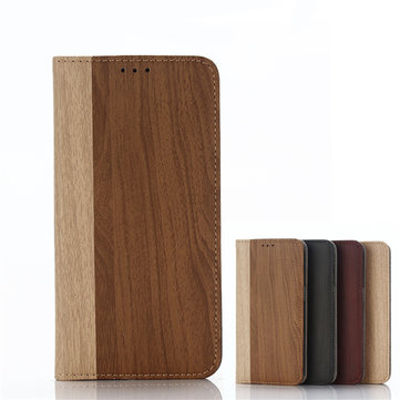 Buy Wooden Pattern Card Pocket Flip Wallet Leather Case Cover Samsung Galaxy S7
