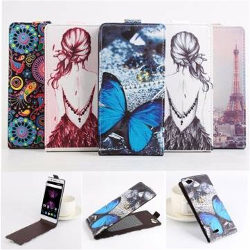 Magnetic Flip Leather Card Case Cover For CUBOT X16 X17 5.0 Inch